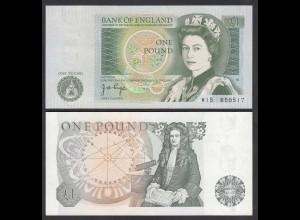 Grossbritannien - Great Britain 1 POUND ND (1978-80) Pick 377a aUNC (1-) (26100