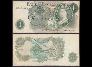 Grossbritannien - Great Britain 1 POUND ND (1970-77) Pick 374g F- (4-) (26103