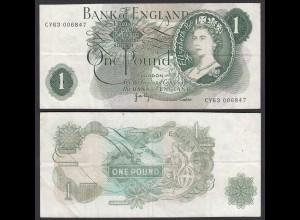 Grossbritannien - Great Britain 1 POUND ND (1970-77) Pick 374g F+ (4+) (26104