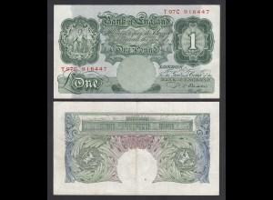Grossbritannien - Great Britain 1 Pound ND (1949-55) Pick 369b VF (3) (26106