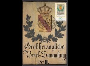 BRD BUNDESREPUBLIK Mi 980 Maximumkarte 1978 Baden Posthausschild (26135