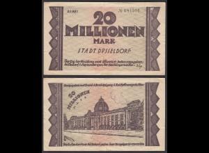 Düsseldorf Stadt 20 Millionen Mark 1923 Notgeld Reihe 1 (26155