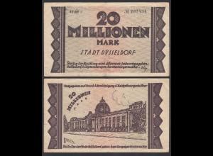 Düsseldorf Stadt 20 Millionen Mark 1923 Notgeld Reihe 3 (26156