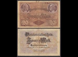 Darlehnskassenschein 20 MARK 1914 Ro 49a F (4) (26174