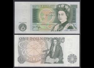 Grossbritannien - Great Britain 1 POUND ND (1978-80) Pick 377a UNC (1) (26252