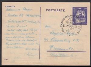 Generalgouvernement Deutsche Besatzung 2.WK Postkarte P12 gestempelt (26294