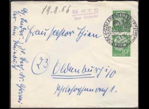 Posthilfstelle/Landpost Berg über Ahrweiler 1956 (26329
