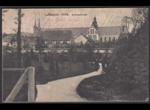 AK Oliva (Danzig) Schlosskirche 1819 nach Düsseldorf (26339