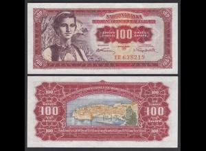 Jugoslawien - Yugoslavia 100 Dinara 1955 Pick 69 UNC (1) (26362