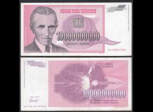 Jugoslawien - Yugoslavia 10-Milliarden Dinara 1993 Pick 127 VF (3) (26365