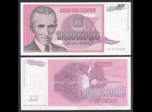 Jugoslawien - Yugoslavia 10-Milliarden (Billion) Dinara 1993 Pick 127 aUNC (1-)