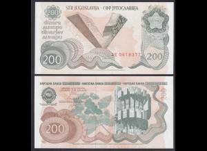 Jugoslawien - Yugoslavia 200 Dinara 1990 Pick 102a UNC (1) (26372