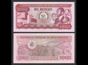 MOSAMBIK - MOZAMBIQUE 1000 Meticais 1980 Pick 128 UNC (1) (26384