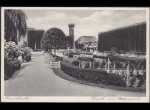 AK Bad Salzuflen Kurpark Grenadierwerk 1932 (12636