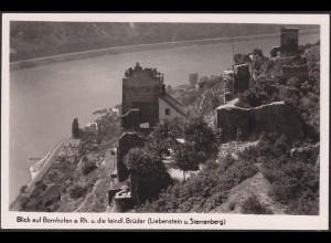 AK Bornhofen Liebenstein + Sterrenberg (12633