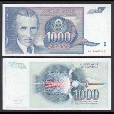 Jugoslawien - Yugoslavia 1000 Dinara 1991 Pick 110 UNC (1) (26408