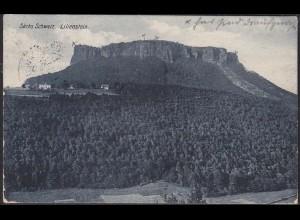AK Porschdorf Sächsische Schweiz Liliensten 1927 (12637