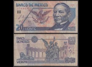 MEXIKO - MEXICO - 20 Pesos 1994 Pick 106a F (4) (26450