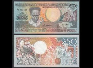 SURINAM - SURINAME 250 Gulden 1988 UNC (1) Pick 134a (26467