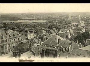 AK Frankreich France Panorama vu du Beffroi LL 1917 stummer Feldpost St. (1417