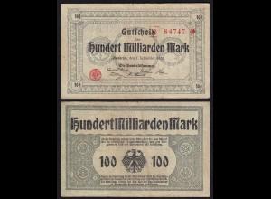 Osnabrück 100- Milliarden Mark 1923 Notgeld handelskammer (26494