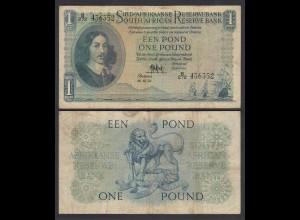 Südafrika - South Africa 1 Pound 14.12.56 Pick 93e F (4) (26564