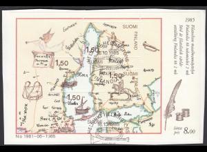 Finnland - Finland Block 1 Finlandia Sonderstempel 1985 (26577