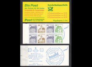 Berlin Burgen und Schlösser Markenheftchen MH 11f postfrisch (26610