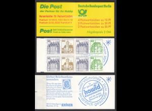Berlin Burgen und Schlösser Markenheftchen MH 11c postfrisch (26611