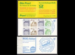 Berlin Burgen und Schlösser Markenheftchen MH 11b postfrisch (26612