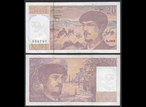 Frankreich - France - 20 Francs 1997 Pick 151i VF/XF (2/3) (26636