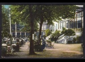 AK Bad Rothenfelde 1915 Konzertgarten mit Kurhaus gelaufen (16913