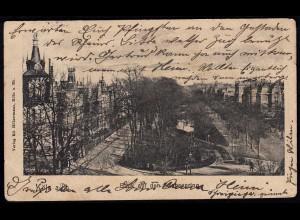 AK Köln Blick auf den Sachsenring 1904 gelaufen (17093