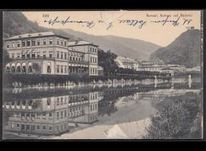 AK Bad Ems Kurhäuser 1900 gelaufen (17142