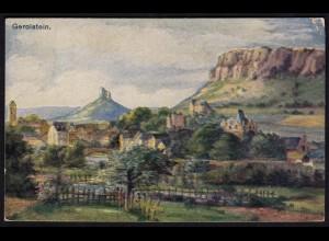 AK Gerolstein Künstlerkarte Eifel 1920 gelaufen (17211