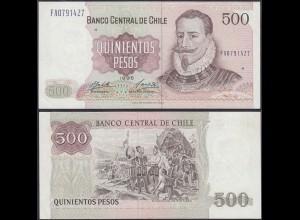 Chile - 500 Escudos Banknote 1995 Pick 153e VF/XF (2/3) (12830