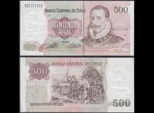 Chile - 500 Escudos Banknote 1998 Pick 153e VF (3) (12837