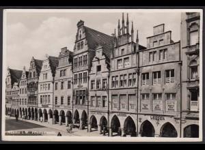 AK Münster Westfalen Prinzipalmarkt ech Foto (16874