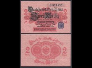 Darlehenskassenschein 2 MARK 1914 Ro 52d Serie 9 UNC (1) (26172