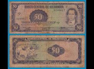 Nikaragua - Nicaragua 50 Cordobas 1978 Pick 125 G (6) (18687