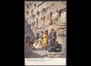 AK Palestina Nr. 7 Klagemauer der Juden in Jerusalem 1910 (26676