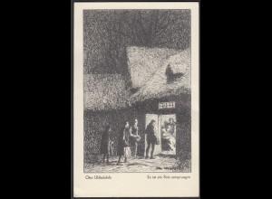 AK Otto Ubbelohde Es ist ein Reis entsprungen 1927 gelaufen (26678