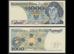 Polen - Poland 1000 Zlotych Banknote 1982 Pick 146c UNC (1) (26673