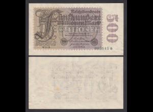 Reichsbanknote 500 Millionen Mark 1923 Ro 109d FZ: WH-19 Star hinten VF 3 (26667
