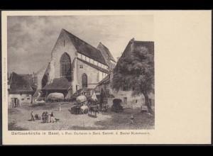 AK Basel Barfüsserkirche Aus Sammlung Baseler Kunstverein (12632
