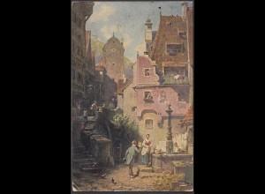AK Spitzweg Der ewige Kochzeiter 1919 aus Eschwege (26688