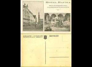 AK Dänemark - Denmark Hotel Hafnia Kobenhavn (1412