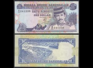 BRUNEI - 1 Ringit Banknote 1994 Pick 13b UNC (1) (26709