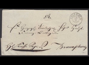 EISLEBEN K2 alter Umschlag nach BRAUNSCHWEIG (26720
