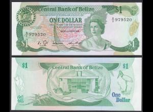 Belize - 1 Dollar Banknote 1.1.1986 Pick 46b UNC (1) (26750